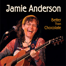 cover of the new cd: better than chocolate